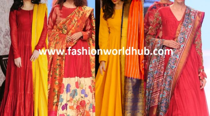 Gorgeous Traditional Anarkali Designs by Gaurang Shah