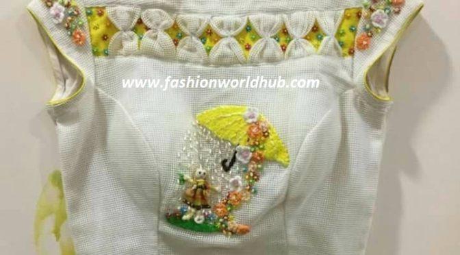 Unique designer blouses