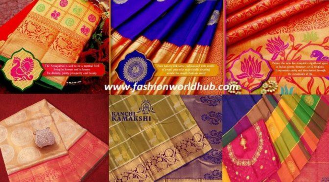 Bridal kanchi silk sarees by  Kanchi Kamakshi
