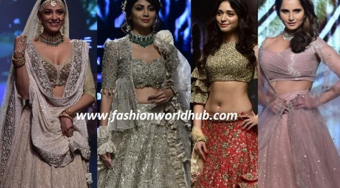 Outstanding outfits at Lakme Fashion Week 2018