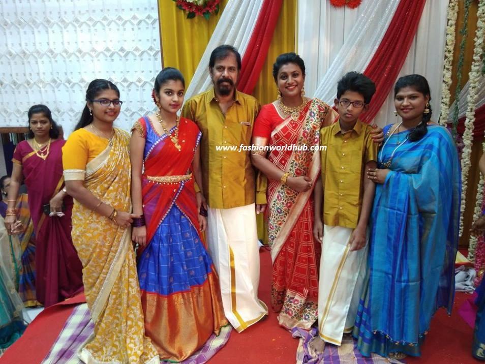 Roja In Paithani Silk Saree Fashionworldhub