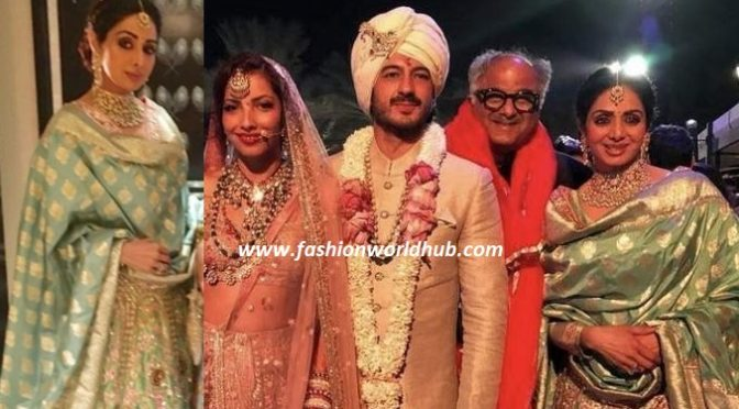 Last pictures of Sridevi from Mohit Marwah's wedding in Dubai