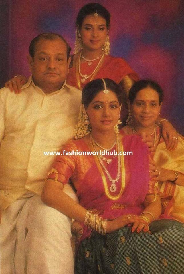 sridevi family photo