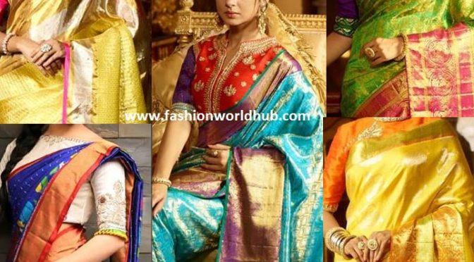 Latest Kanchi Pattu Sarees by Trisha Trends