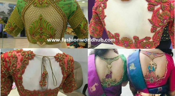 Heavy Embroidery work blouses