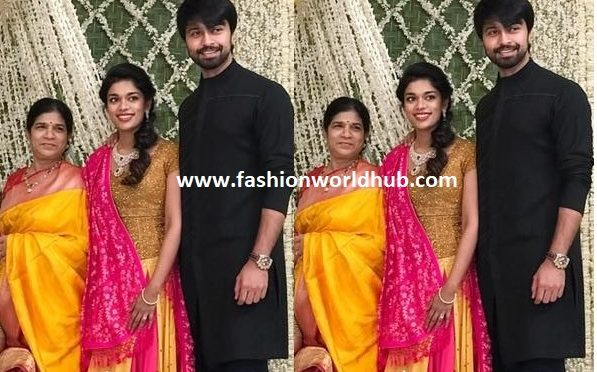Sreeja With Family At Kalyan Sister's Sreemantham Function!