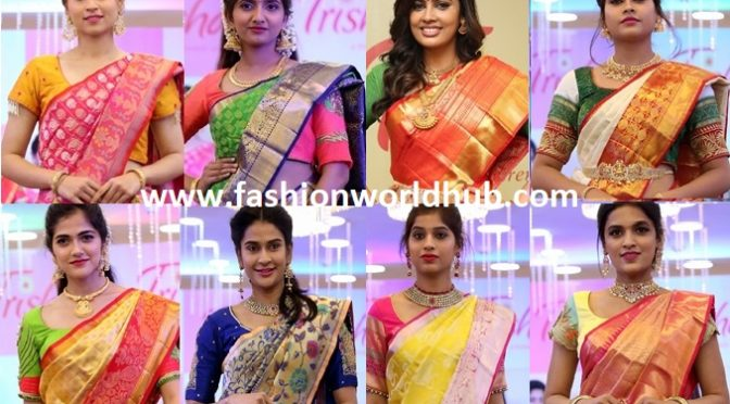 Mind blowing Kanchi Silk sarees don't miss them!