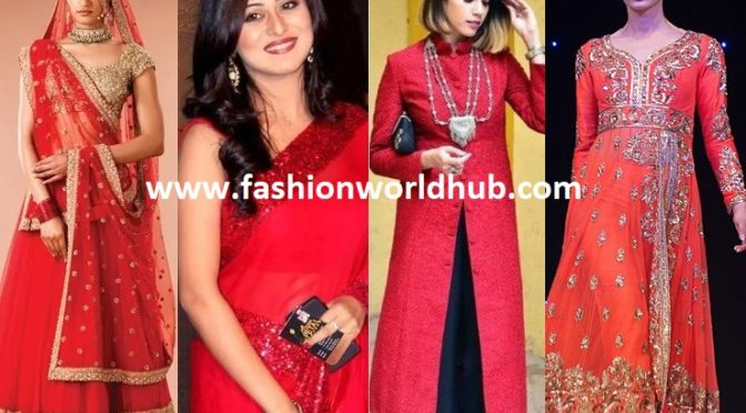 Must have Stunning Red Outfit in Women's wardrobe!