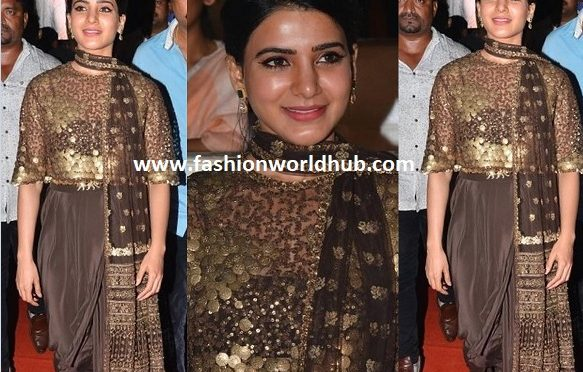 Samantha at Rangasthalam Pre-Release Event