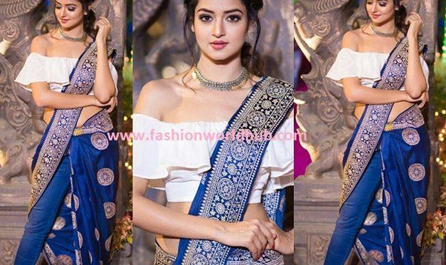 Shanvi Srivastava's Indo Western Look