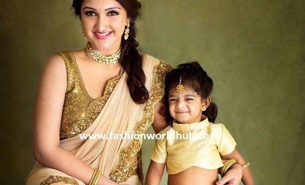 Latest photos of Sridevi Vijaykumar and her daughter