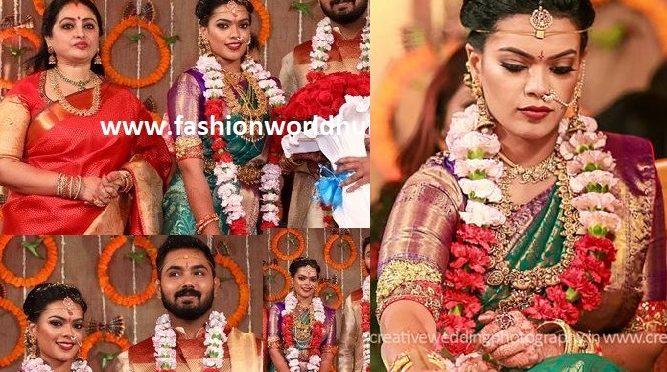 Actress Seetha daughter Keerthana Wedding photos!