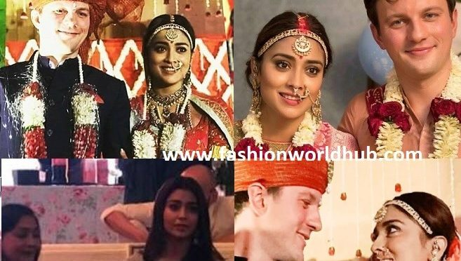 Shriya Saran and Andrei Koscheev's Wedding photos!