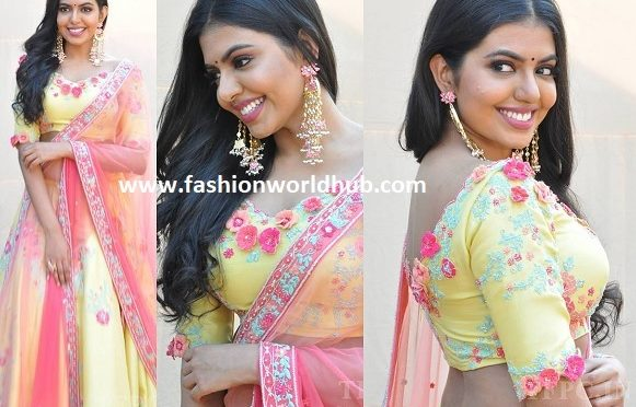 Shivani Rajasekhar in a floral lehenga