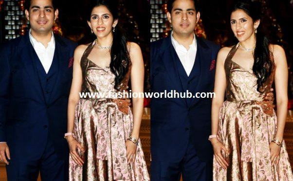 Akash Ambani And Shloka Mehta At Their Pre-Engagement Bash