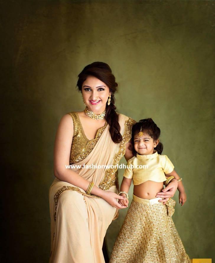 Latest photos of Sridevi Vijaykumar and her daughter ...