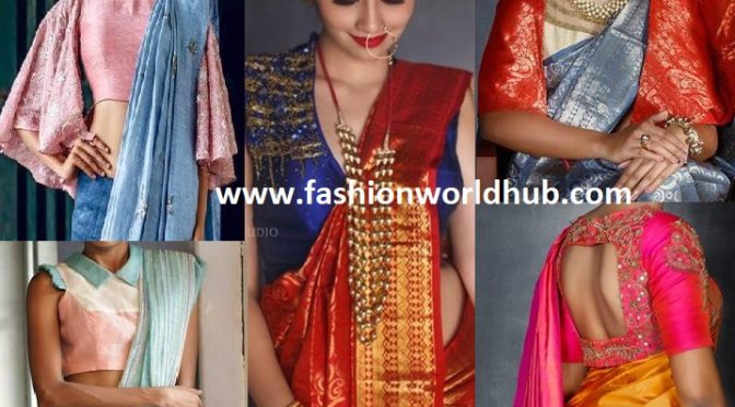 Super Stylish blouse inspirations from Salt studio!