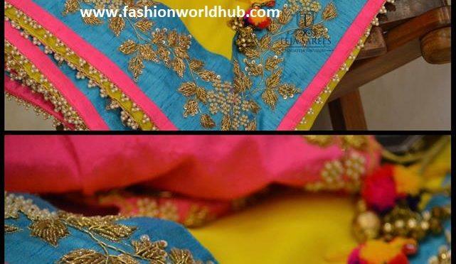 Designer sarees & blouses by Teja sarees.