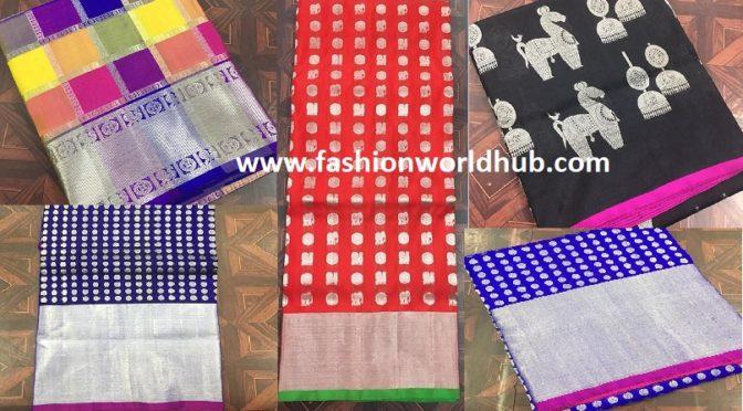 Venkatgiri Pattu sarees by Suneetha designer boutique.