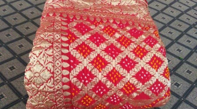 Bandhani banarasi sarees