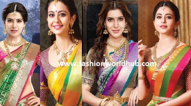 Breathtaking Blouse designs by Bhargavi kunam for RS Brothers & South india Shopping mall Ad Campaign.