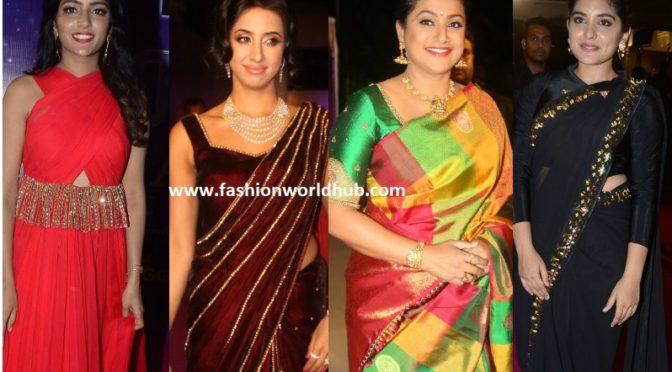 Celebrities at Zee Apsara Awards 2018