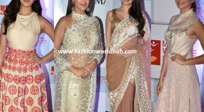 Celebrities at The Walk Of Mijwan Show 2018- Manish Malhotra Outfits.