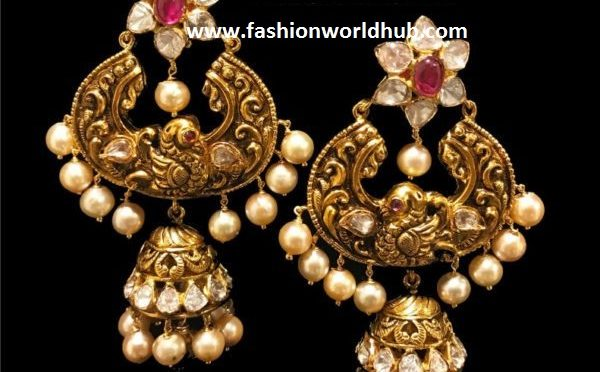 Chandbali Jhumka Earrings