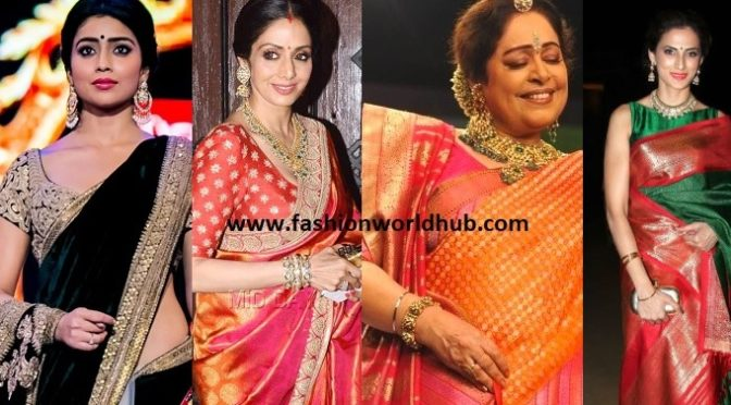 How to wear Sarees Pallu in different styles.