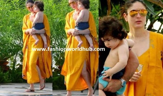 Kareena and Taimur adorable pics.