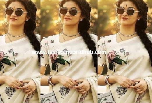 Keerthy Suresh nails Savitri look from Mahanati