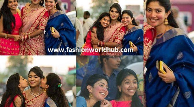 Sai pallavi at her bestie wedding!