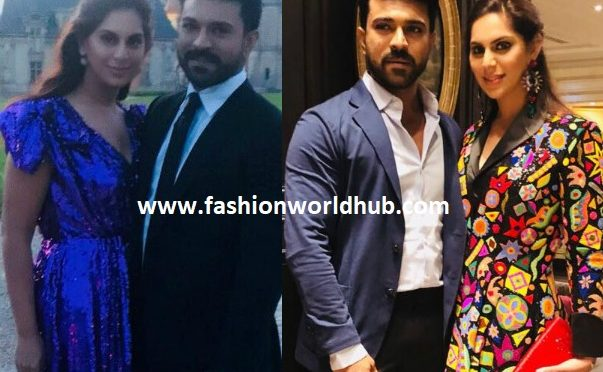 Upasana and Ram Charan attended Shriya bhupal wedding in Paris!