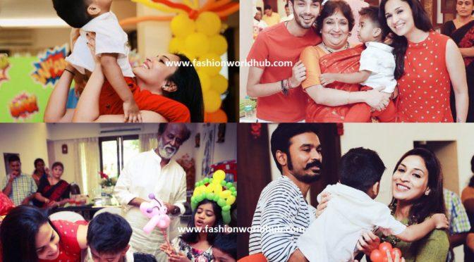 Rajinikanth Grandson Ved's Birthday Celebrations Photos!