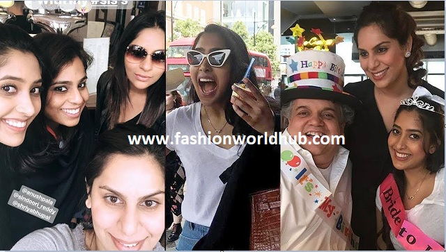 Shriya bhupal bachelorette party in London
