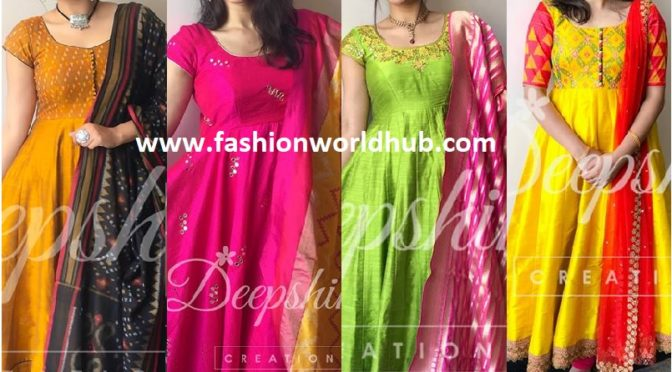 10 Best Anarkali And Dupatta Combinations!