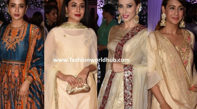 Celebrities at Baba Siddique's Iftar party!