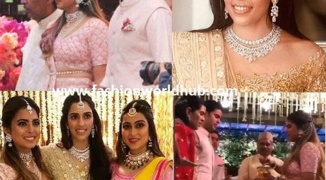 Akash Ambani and  Shloka Mehta Pre Engagement Bash party Photos!