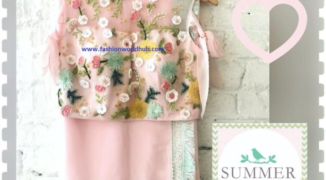Designer Saree collections from Summer by Priyanka gupta