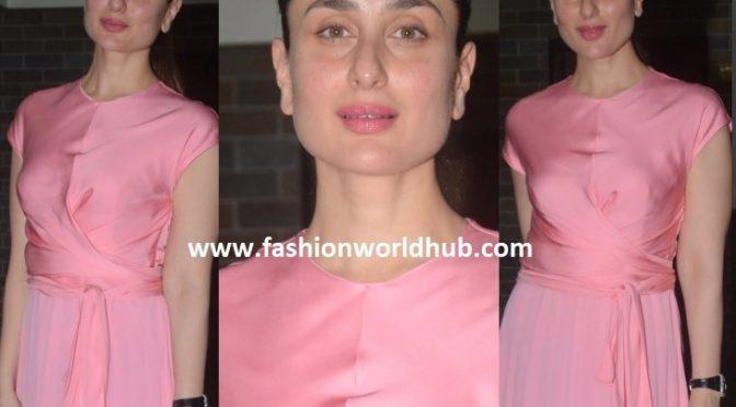 Kareena Kapoor in Sandro Paris