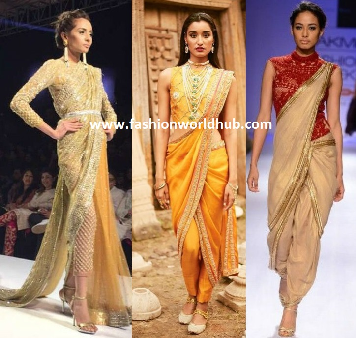 6 Reasons Why You Should Flaunt The Saree Pants ...