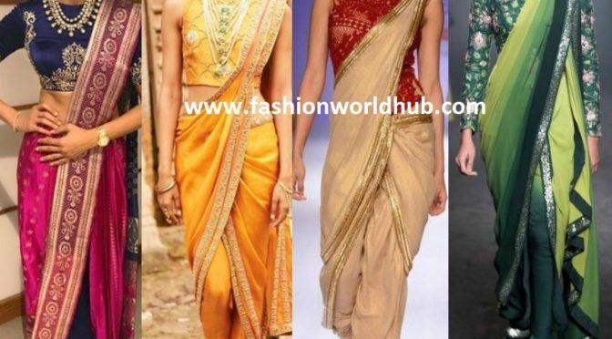 6 Reasons Why You Should Flaunt The Saree Pants