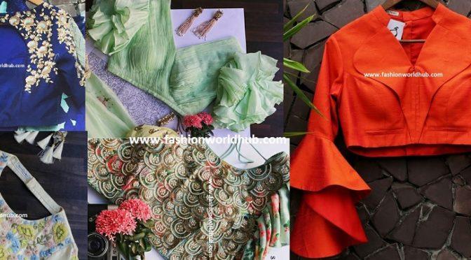 Stylish blouse designs by Suruchi Parakh couture