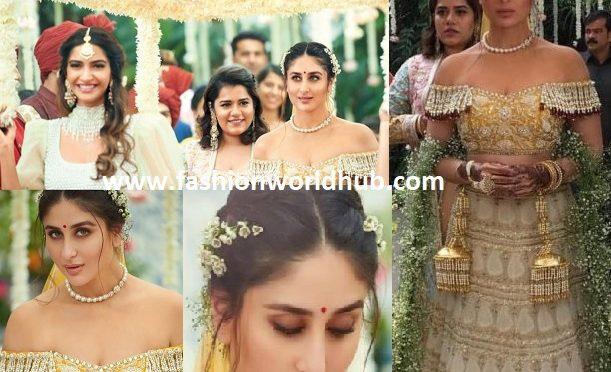 Kareena Kapoor's Bridal Look in Veere Di Wedding!