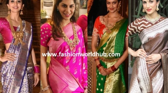 Banarasi sarees: a superb blend of ethnicity, traditions and just divine beauty!
