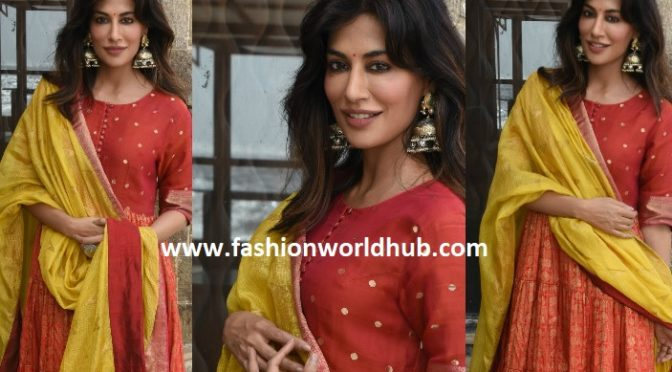Chitrangda Singh at Biwi Aur Gangster 3 promotions!