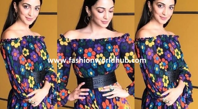 Kiara Advani in Urvashi Joneja
