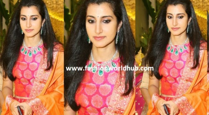 Nara Brahmani at Anindith and Shriya Bhupal's Pre-wedding function