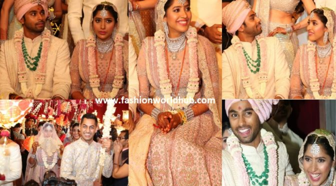 Grand Wedding of Shriya Bhupal and Anindith Reddy!