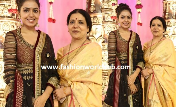 Shivani and Jeevitha rajasekhar at a wedding event!